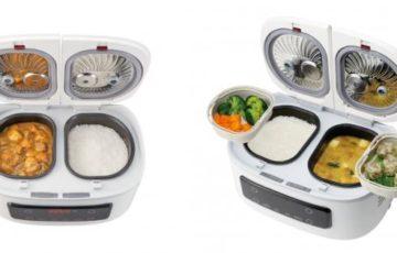 【動画有】1台でご飯とおかずが同時にできる自動調理鍋「ツインシェフ」が便利すぎると話題に!