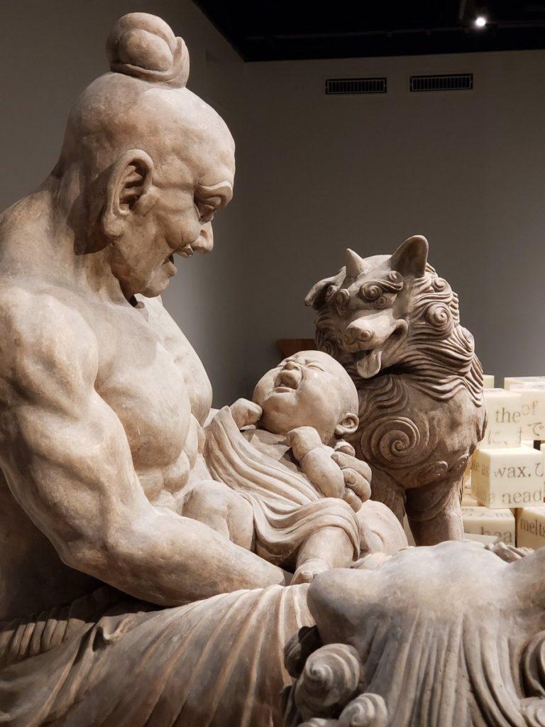 東京藝大卒業作品展で三好桃加さんの作品「オフの日」が仏教界の働き方改革を的確に表現してると話題にwww