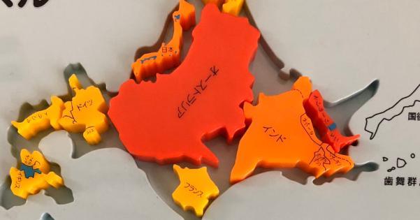 北海道の大きさがよくわかる地図が話題に!