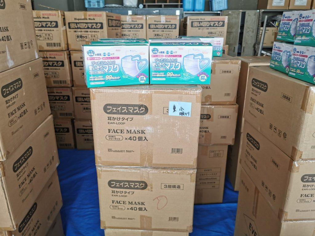 マスク不測の中、岡山県総社市が備蓄していたマスクを市内に配布し賞賛の声高まる!