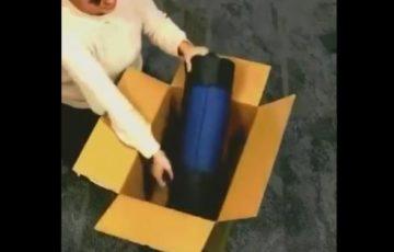 【動画有】ダンボールに収まらない荷物を収める方法が画期的!