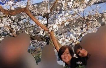 安倍昭恵夫人が花見自粛要請の中で、都内で花見をしている所を目撃されてしまう