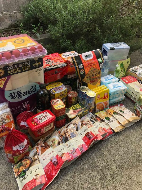 韓国政府が強制自宅待機に配給するパッケージが凄いと話題に!