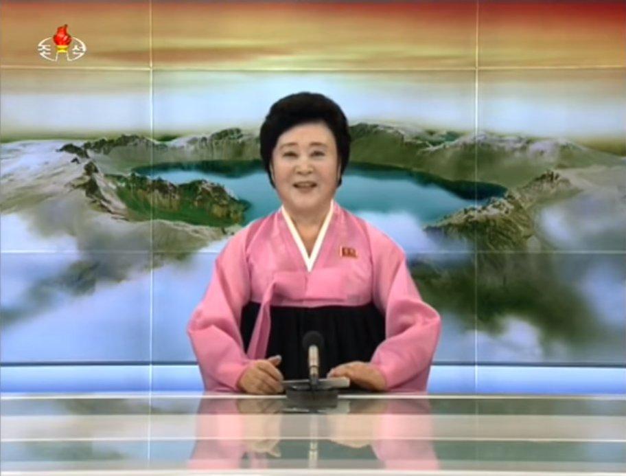 ビデオ会議の背景にしたら面白い画像まとめ【ZOOMやV-CUBEでも使える!】:北朝鮮国営放送の白頭山