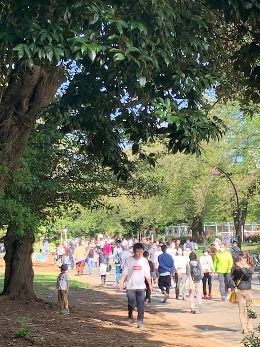 駒沢公園が感染可能性の高い駒沢クラスターパークになっている件・・・