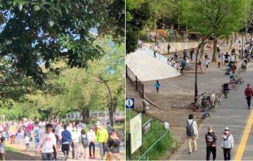 【動画有】駒沢公園が感染可能性の高い駒沢クラスターパークになっている件・・・