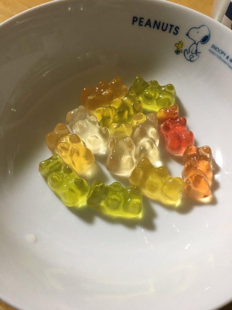 日本酒飲む人へ 、金平糖を入れてはいけません。
