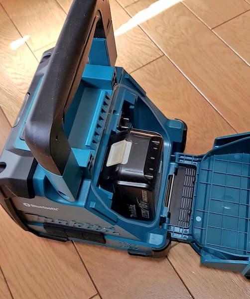 カッコよくてゴツイ!電動工具のマキタのおすすめ商品まとめ:マキタ(Makita) Bluetooth 充電式スピーカ(青)
