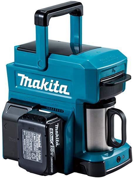 電動工具のマキタのカッコよくてゴツイ!おすすめ商品まとめ:マキタ 充電式コーヒーメーカーCM501DZ