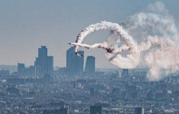 「戦闘機が上空を通るとき、その国がどんな国かわかる。」ブルーインパルス見てると昔、イラン人が言ってたことが思い出される。