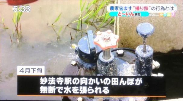 撮り鉄による農家の被害が深刻「田んぼの水を勝手に調節する」