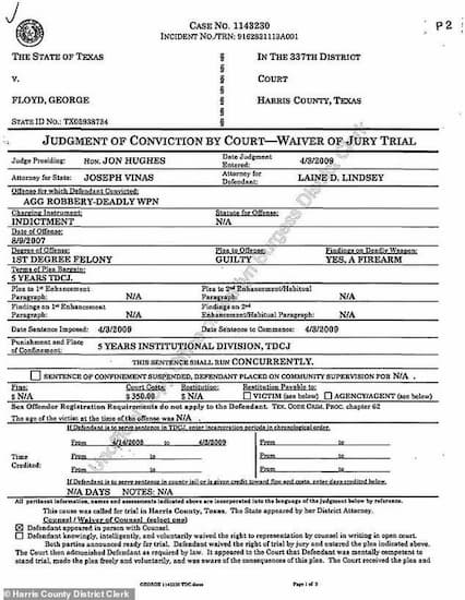 ミネアポリスで警察官に殺害された黒人男性ジョージ•フロイドの前科には覚せい剤所持や女性に対する武装強盗などがあった!