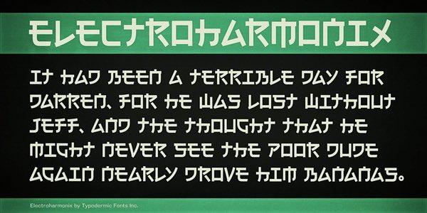 日本人にだけ読めないフォントを思い出しました
