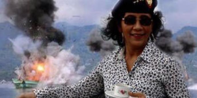 インドネシアやアルゼンチンでは、違法に操業をした中国漁船を爆破して沈没させています。
