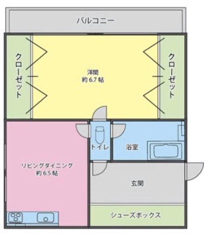 伝説のクソ物件(事故物件)が盛り上がり中!:他の部屋に移動する際、必ずトイレを通らないとダメな物件