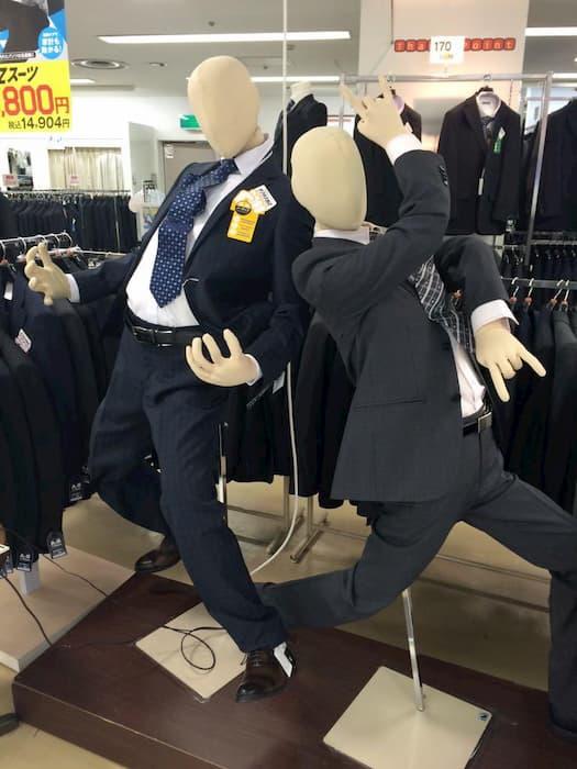 【爆笑】面白い画像まとめ:ジョジョ立ちマネキン