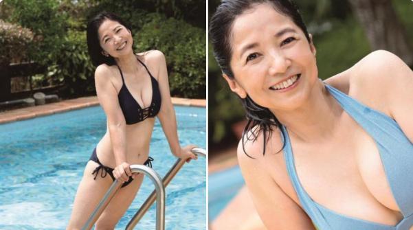 奇跡の61歳「宮崎美子」さんの圧倒的なスタイル!