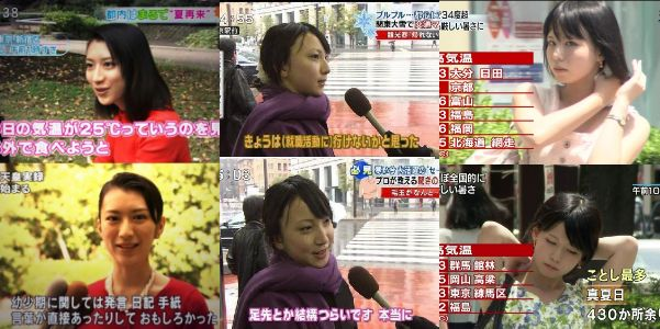 「やらせ」と「仕込み」疑惑のあるテレビの街頭インタビュー画像まとめ