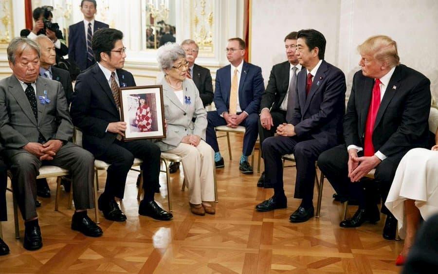 トランプ大統領は拉致被害者に寄り添っていた。日本のメディアはトランプ大統領は横柄だと印象操作!