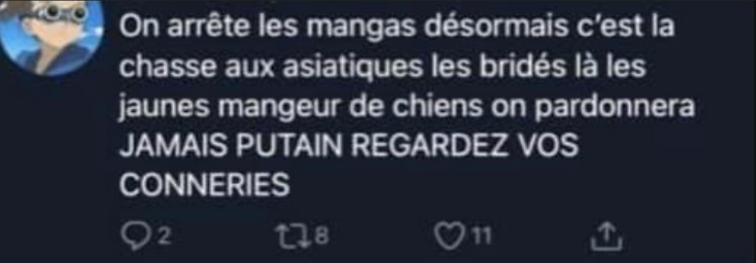 【日本で報道されてない事実】フランスでアジア人排斥運動が活発化している