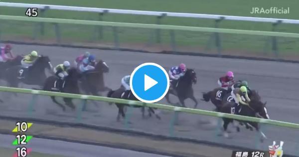 【動画】馬名のせいで「オヌシナノモノだ‼️」が競馬の実況で連呼される事態にwww