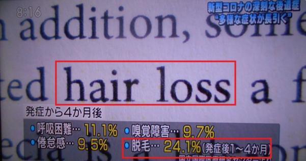 いくつかある後遺症のうち、脱毛(禿げる)部分をもっと強調すれば軽率な行動はとらなくなると思う