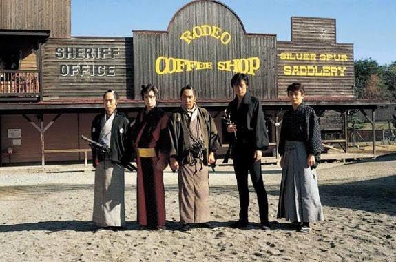 時代劇「必殺忠臣蔵」で背景に新幹線が映り込んだままの場面が放送されてしまっていたwww