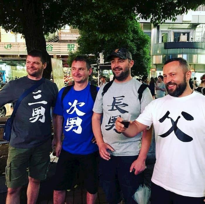 漢字Tシャツを着こなすポーランド家族が面白すぎるwww