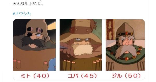 【驚愕】あのキャラクターが自分よりタメや年下になっていた!