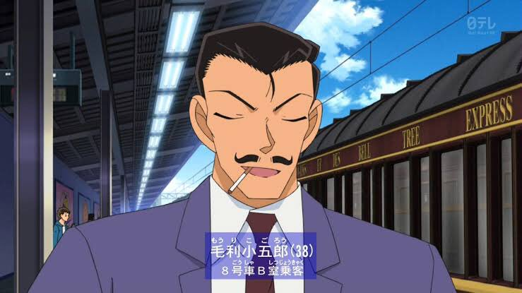 【驚愕】あのキャラクターが自分よりタメや年下になっていた!:毛利小五郎(38)