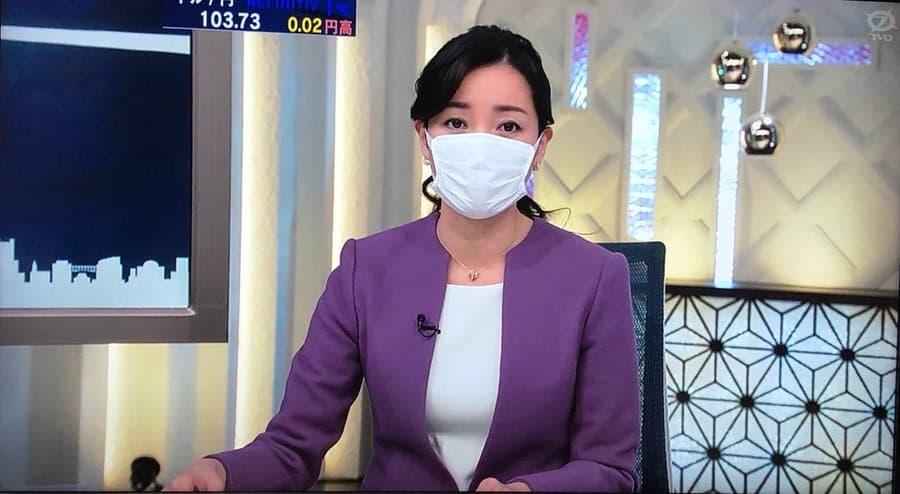 テレビ東京が、WBSでマスク着用でのニュースを他に先立って開始!→「さすが俺らのテレ東」