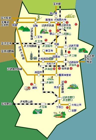 奈良県のイメージと現実の地図が酷いwww