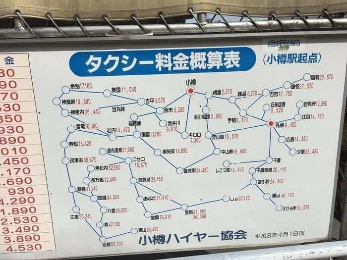 北海道のタクシー料金が高すぎるwww