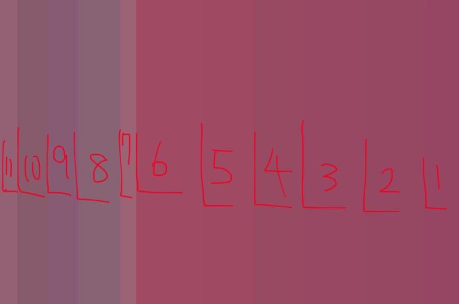 男性には3色、女性には7色に見える画像。皆さんは何色に見えた?