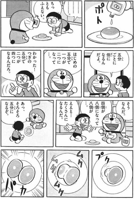 ドラえもんの闇4(栗まんじゅう