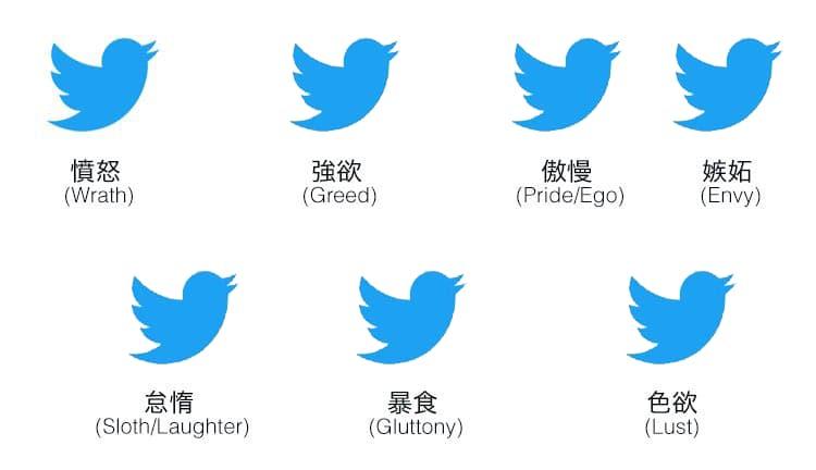 ソーシャルメディア7つの大罪