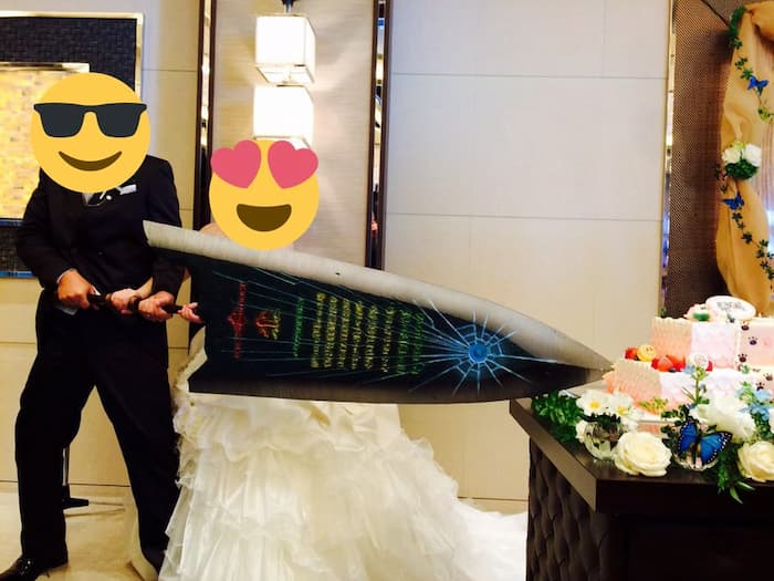 姉の結婚式がモンハンウェディングだった件www