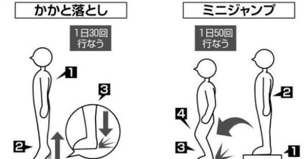 NHK【人体】でもありましたが「踵への刺激」がないと骨の代謝が落ちます