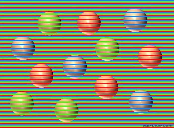 【錯視】これ全部同じ色です、ズームするとわかります。