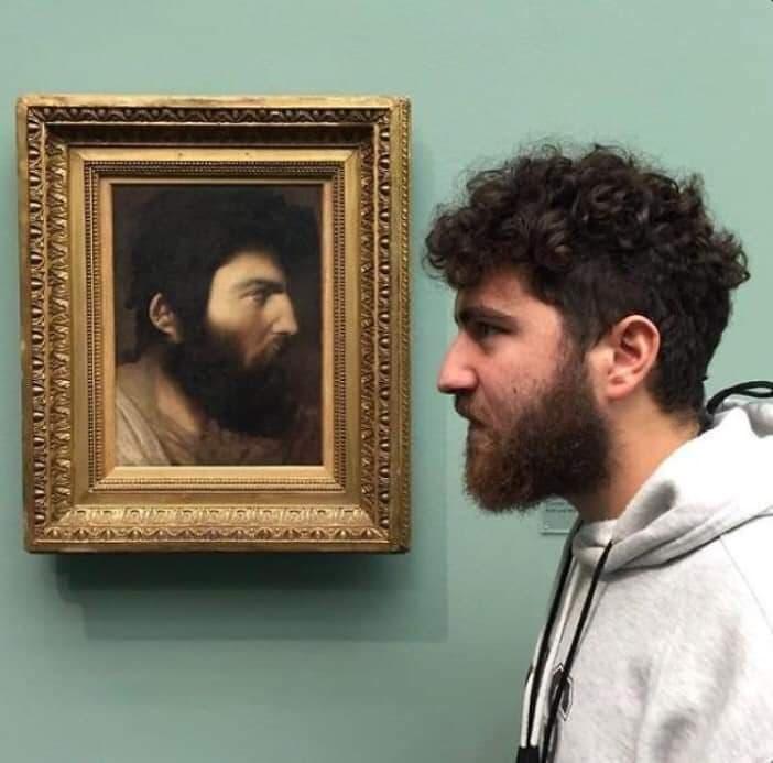 絵画とそっくりなドッペルゲンガーな画像まとめ