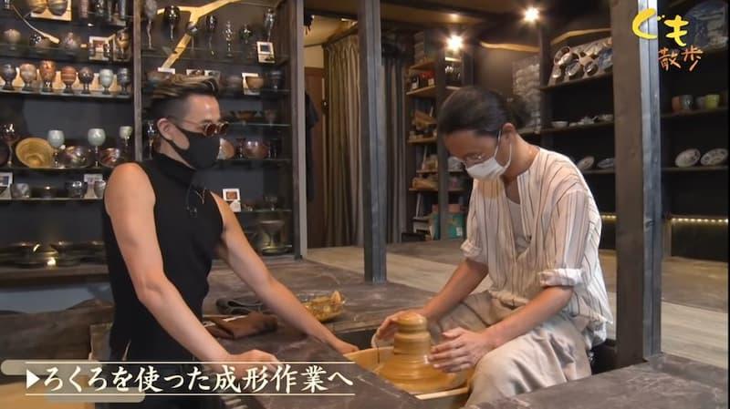 左が東京事変の人で右が陶芸家だと思ったら逆だった