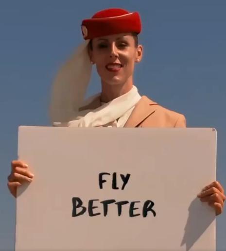 このエミレーツ航空のCM動画、合成ではなくリアルで撮影しているらしい(メイキング映像有)